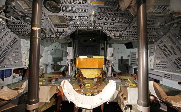 Inside Apollo Capsule