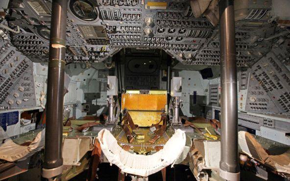 Inside Apollo Capsule